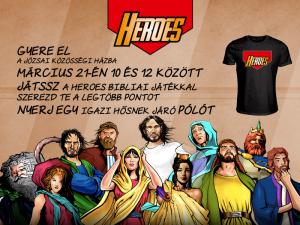 Heroes-meghívó