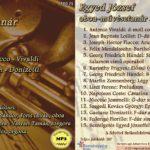 Egyed József oboa-művésztanár zenei estje