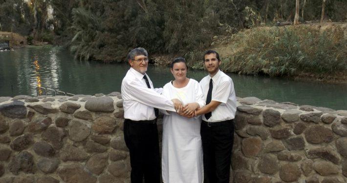 Keresztég a Jordánban
