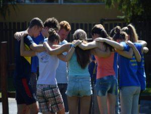 Fiatalok tábora Bózsván
